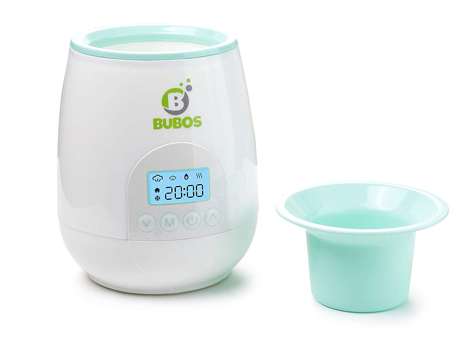 Bubos Smart Baby Bottle Warmer with Backlit LCD